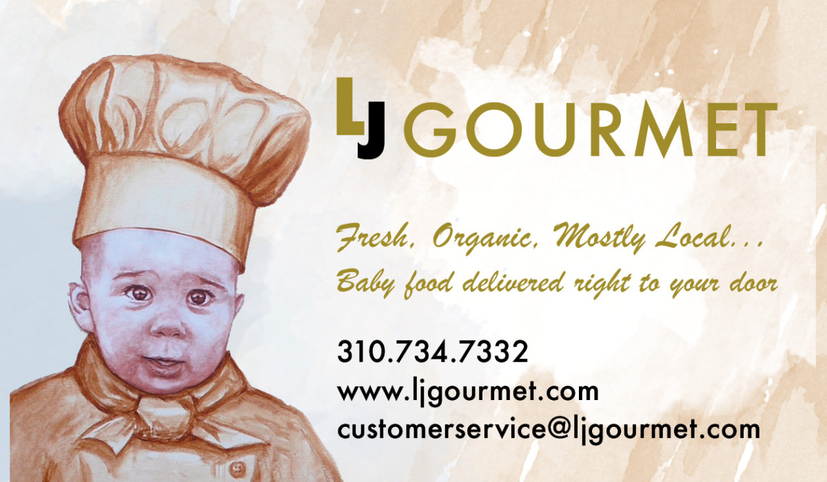 LJ Gourmet Business CardVCar