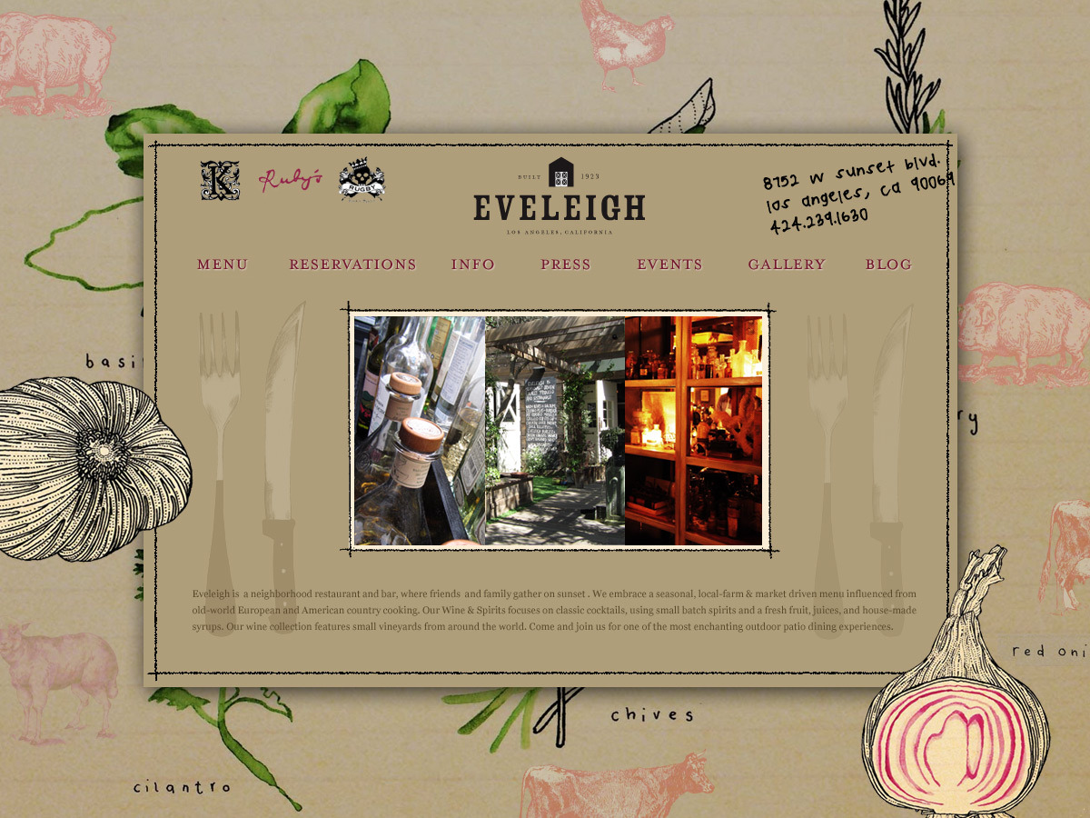 Eveleigh Website
