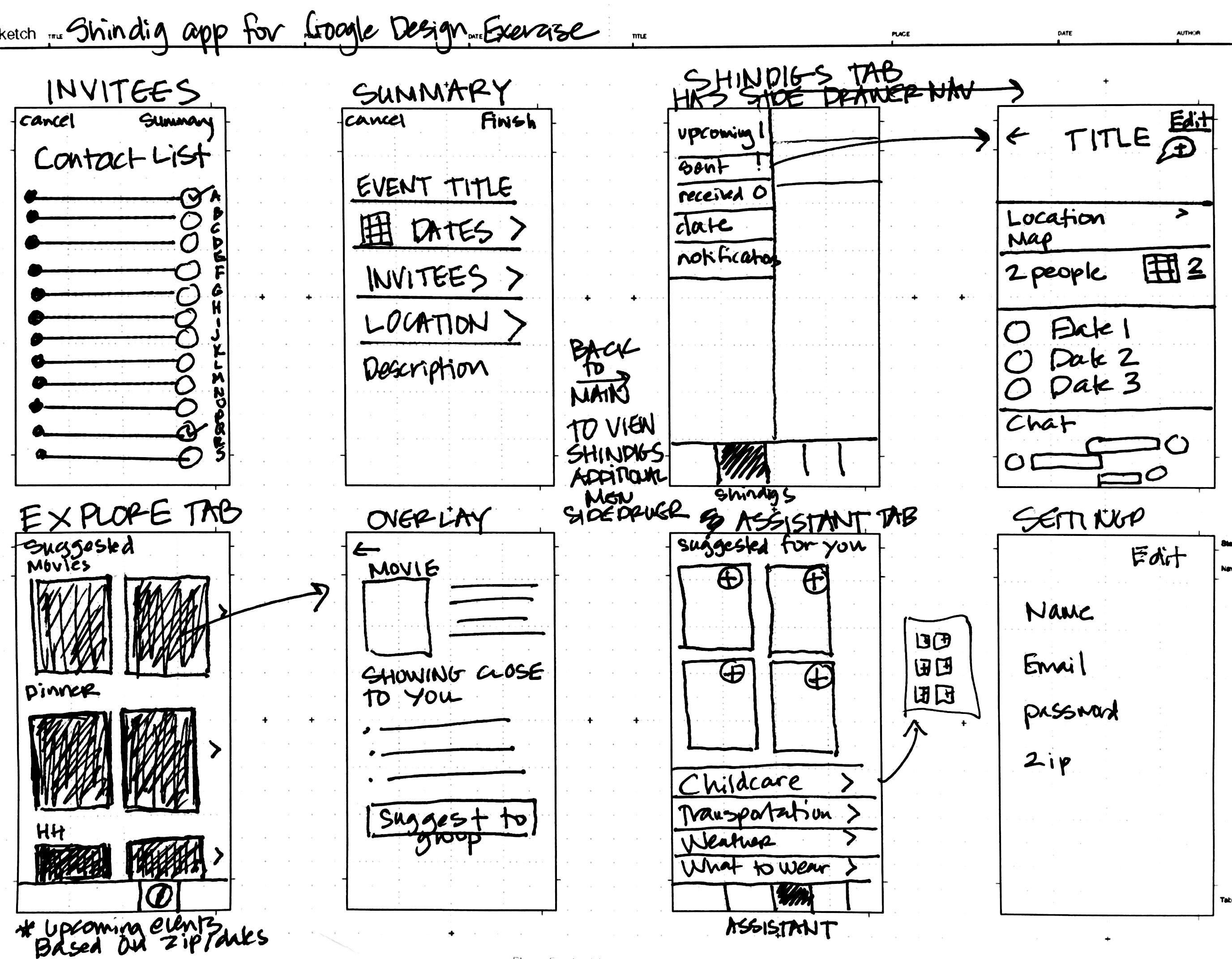 shindig tab bar menu sketch_2